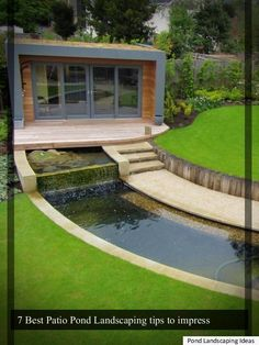 **7 Patio Pond Landscape tricks for your family**