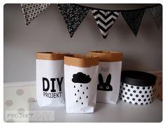 Papierowe worki - Projekt DIY