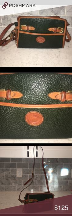 Vintage Dooney & Bourke Nearly perfect condition, circa 1994 absolutely authentic! Would make the perfect Christmas gift :) Dooney & Bourke Bags Shoulder Bags