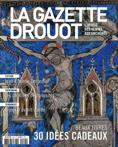 Gazette Drouot n°44 du 18/12/2015 #ReligiousArt #Jesus #Christianism #croix #blue #ArtMarket #Webzine