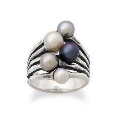 Burgeon Pearl Ring   James Avery
