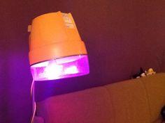 Lamp voor mezelf! Gemaakt uit een retro haardroger.