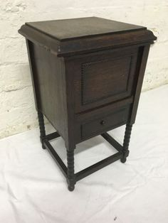 1920s Small Bedside Cabinet Like A Gramophone Cabinet1920sDining Room