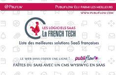 Le Logiciel Publiflow obtient le label @LaFrechTech parmi les meilleures solutions CMS SaaS @Pblflw -  www.publiflow.com