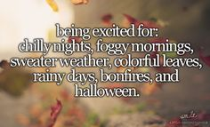 Why I love fall...