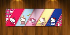 Painel Temático - Hello Kitty