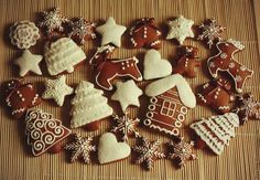 Простой рецепт пряников от Джэйми Оливера к Рождеству! Cookie Desserts, No Bake Desserts, Cookie Recipes, Dessert Recipes, Xmas Food, Sweet Cakes, Christmas Goodies, Confectionery, Cookie Decorating