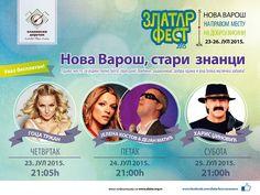 ZlatarFest 2015 Program festivala