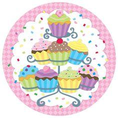 Image result for dibujos de pasteles y cupcake