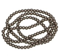Fashion Beads, Wholesale Beads, Pearl Beads, Round Glass, Glass Beads, Jewelry Making, Pearls, Chain, Brown