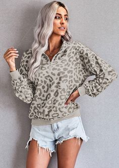 Snuggle with our PINK LEOPARD TEDDY SWEATSHIRT this winter! It features a zipped collar and hoodie, pull over style with long sleeves. Pair it with jeans or leggings for you shopping spree or watching the lions drink water in the Kruger National Park sunset. This sweater will look great with our Cotton Pocketed Joggers High Waist.