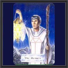 Spock as the Hermit in a Star Trek Tarot by Solar Winds Science Fiction and Fantasy Art. This Trekkie will miss Leonard Nimoy.  #Tarot #tarotreader #tarotcardreader #tarotnyc #tarotnewyork #tarotcardreadernewyorkcity #tarotcardreaderangelalucy fairy #tarotreaderangelalucy #psychic #psychicnewyork #psychicnewyorkcity #tarotparty #psychics #unionsquare #tarotreadernewyorkcity Michael #unionsquaretarot #startrektarot #solarwindssciencefictionandfantasyart #thehermit #spock #leonardnimoy