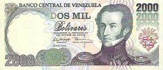Pieza bbcv2000bs-ab03s (Anverso). Billete del Banco Central de Venezuela. 2000 Bolívares. Diseño A, Tipo B. Fecha Agosto 06 1998. Sin serie. Billete tipo specimen