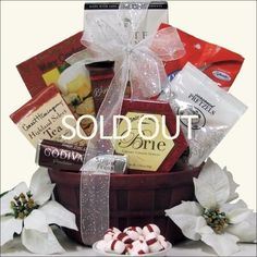 Order now we ship later just enter date you like for giftbasket greatarrivals gift baskets christmas joy sugar free holiday gift basket httpwww negle Choice Image