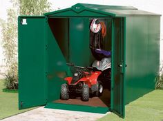 The Asgard Quad bike storage garage