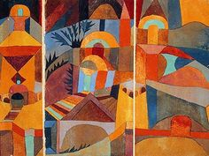 Hermitage, 1918, watercolor  Paul Klee was born in Münchenbuchsee near Bern. His father, Hans Klee and his mother Ida Maria Frick were music...