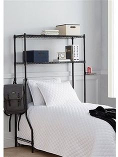 Amazon.com: DormCo Over the Bed Shelf Supreme - Adjustable Shelving: Home & Kitchen