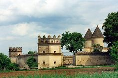 с. Межиріч. Троїцький монастир - фортеця...  Ukrainian castle, palace...