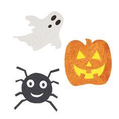 Halloween Mini Glitter Cutouts