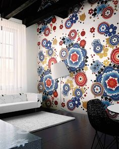 #Bisazza #Decori in #Tecnica Artistica 10x10 Bloem Rosso | #Gres | su #casaebagno.it a 14554 Euro/collo | #mosaico #bagno #cucina