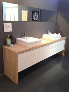 KVIK badkamer meubel + lavabo's ! love it!