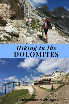 Read about hiking in the Dolomites