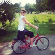 travel partner cycling around Sukhothai National Park Bangkok, Cycling, National Parks, Travel, Bicycling, Trips, Traveling, Biking, Tourism