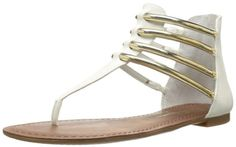 Jessica Simpson Womens Gionara Gladiator SandalWhite6 M US ** You can get more details by clicking on the image.(This is an Amazon affiliate link and I receive a commission for the sales)