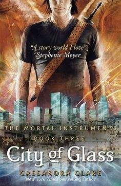 City of Glass book 3 of The Mortal instruments by Cassandra Clare. Soooo good.