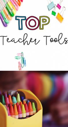 Top Teacher Tools: C