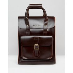 5802ae380ef7 Dr Martens Leather Backpack (£145) ❤ liked on Polyvore featuring men s  fashion