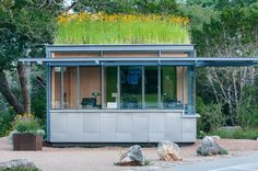 Wildflower Center Kiosk with green roof