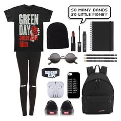 """""""Untitled #19"""" by rossisti ❤ liked on Polyvore featuring mode, Topshop, Eastpak, Vans, Muji, NARS Cosmetics et Accessorize"""