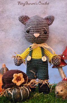Amigurumi - Joe the scarecrow cat - Tutorial by FairyGurumi's Crochet