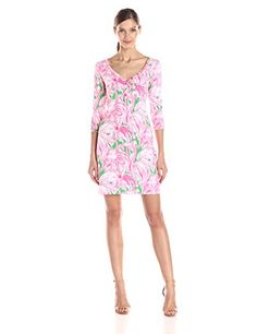 Lilly Pulitzer Women's Palmetto Henley Shirt Dress
