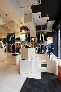 WeSC Concept Store is a skate and snowboard store in Olso, Norway, created by…