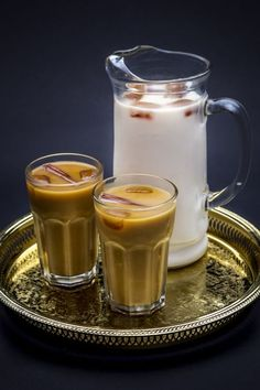 Horchata Ice Coffee Recipe via @honestcooking