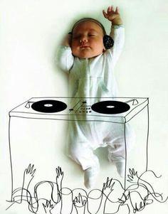 아기 이용 발상