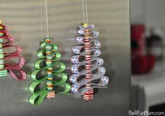 23 Cool DIY Christmas Tree Decorations To Make With Kids | Kidsomania