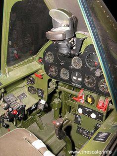 f6f hellcat cockpit | Grumman F6F Hellcat. Cockpit & tail section photos
