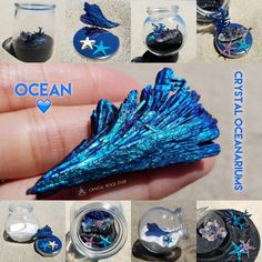 Get a limited edition Crystal Oceanarium! Ocean theme treasures that make perfect gifts for the surfers, divers, mermaid and dolphin lovers out there. Only 5 available!