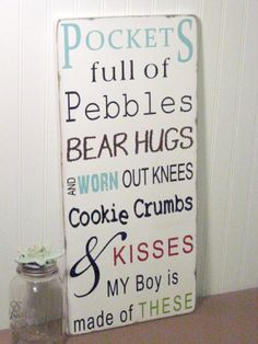 Pockets full of PebblesMy boy is Made of These  The by ToeFishArt