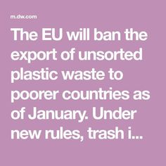 Business Mission Statement, The Bloc, Hazardous Waste, Circular Economy, Plastic Waste, Countries, January, German, Handle