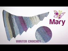 Scialle arcobaleno   Uncinetto - YouTube Crochet Shawl, Youtube, Lana, Facebook, Videos, Handmade, Tricot, Hand Made, Craft