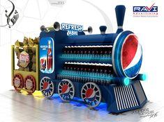Pepsi and Lays Pallet Design