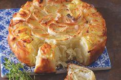 'Plážový' burek se sýrem Cauliflower, Cabbage, Food And Drink, Vegetables, Cooking, Recipes, Eat, Meals, Kitchen