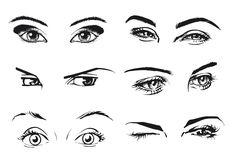 женские глаза рисунок: 14 тыс изображений найдено в Яндекс.Картинках