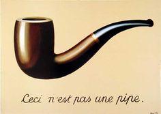 Dit werk is van René Magritte een Belgische kunstschilder. Ik vind het persoonlijk wel een leuk werk. Het ziet er eenvoudig uit en het heeft een leuk opschrift.