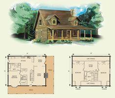 images about Afordable Log Cabin Homes on Pinterest