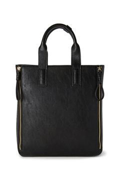 Refined Zippered Tote from FOREVER 21 on Catalog Spree